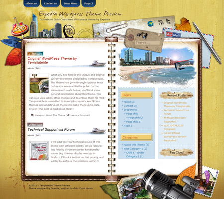 Guidebook Gold Coast WordPress Theme